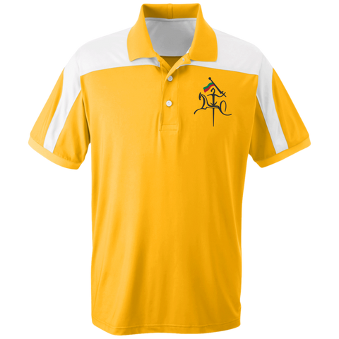 Vytis w/ Flag -- Colorblock Polo