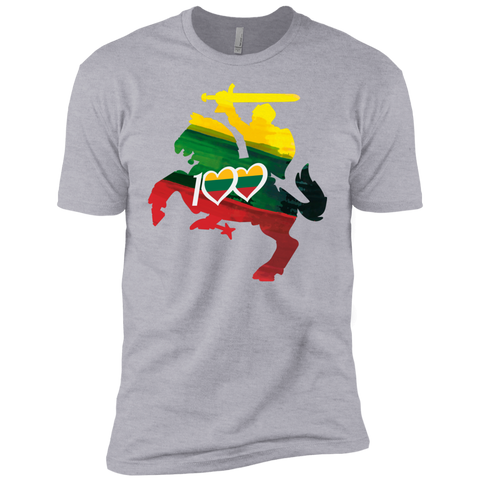 Restored 100 (Knight) -- Jaunimas Premium T-Shirt