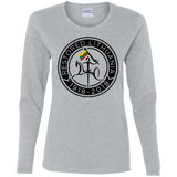 Restored 100 (Vytis Black Circle) -- Moterims Long Sleeve Tee