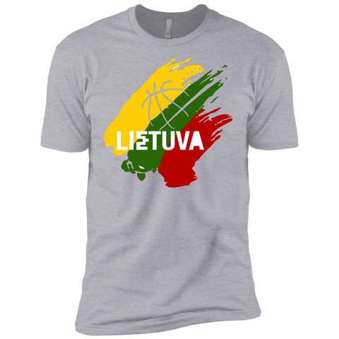 Lietuva BB -- Guys Next Level Premium T-Shirt