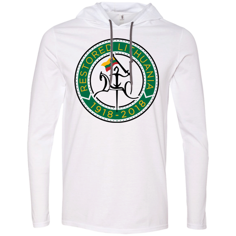 Restored 100 (Vytis Green Circle) -- Vyrams T-Shirt Hoodie