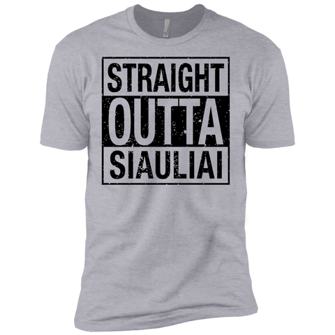 Outta Siauliai -- Guys Next Level Premium T-Shirt