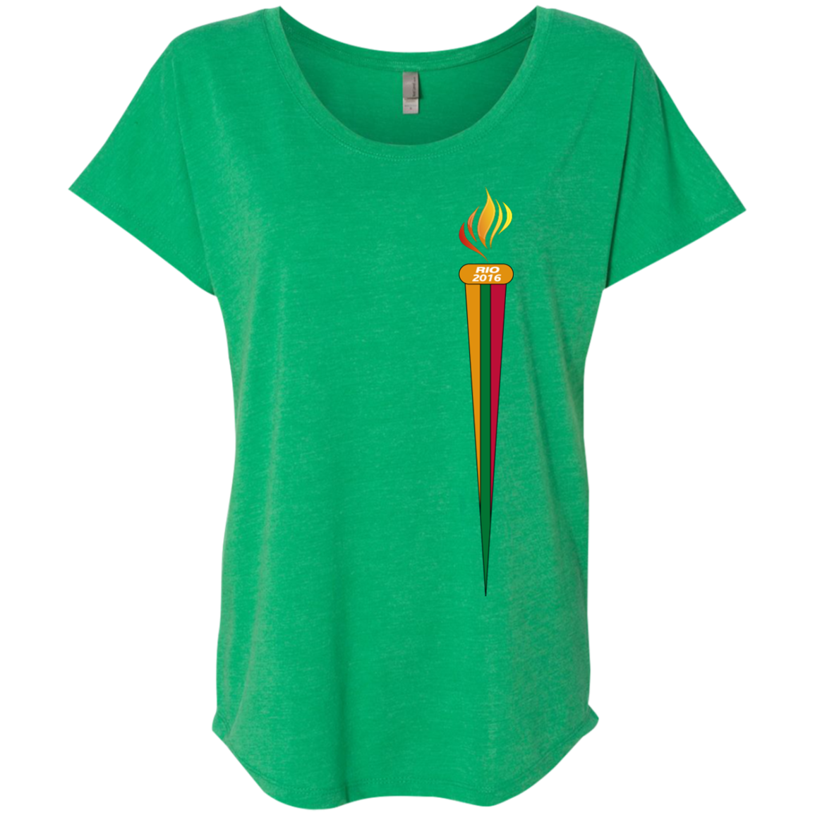 Rio Torch -- Next Level Gals Dolman Sleeve