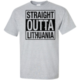 Outta Lithuania -- Guys Tall T-Shirt