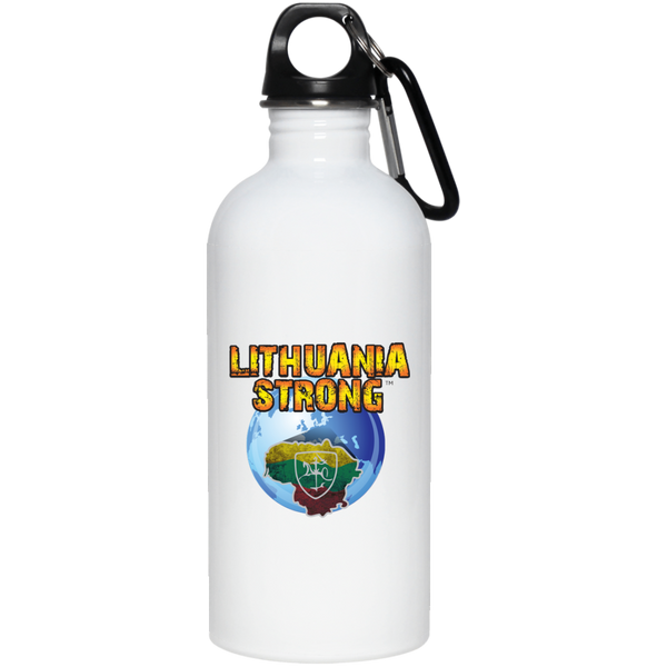 Lithuania Strong -- Stainless Steel Water Bottle