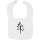 Vytis w/ Flag -- Infant Snap Bib