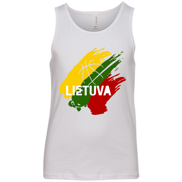 Lietuva BB -- Youth Boys/Girls Bella+Canvas Youth Tank Top