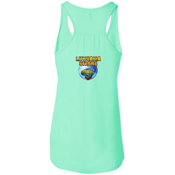 Outta Vilnius -- Bella+Canvas Juniors Girls Racerback Tank
