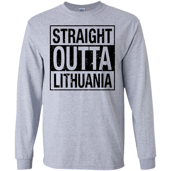 Outta Lithuania -- Guys Long Sleeve