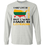 Made in Lithuania -- Guys Long Sleeve T-Shirt