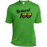 Restored 100 (100 Love) -- Vyrams Heather Dri-Fit Moisture-Wicking