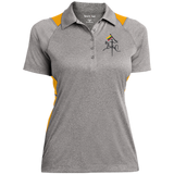 Vytis w/ Flag -- Gals Heather Performance Polo