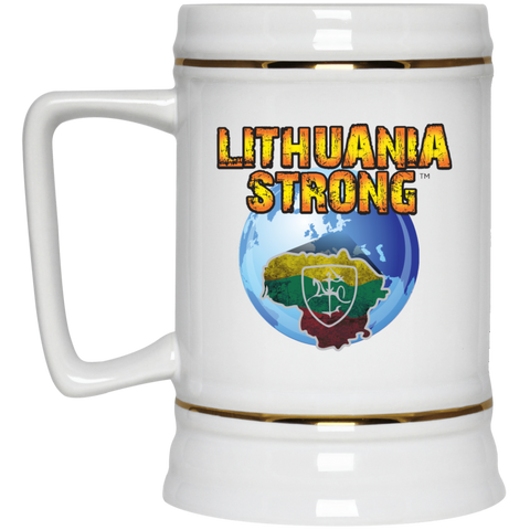 Lithuania Strong -- Ceramic Stein