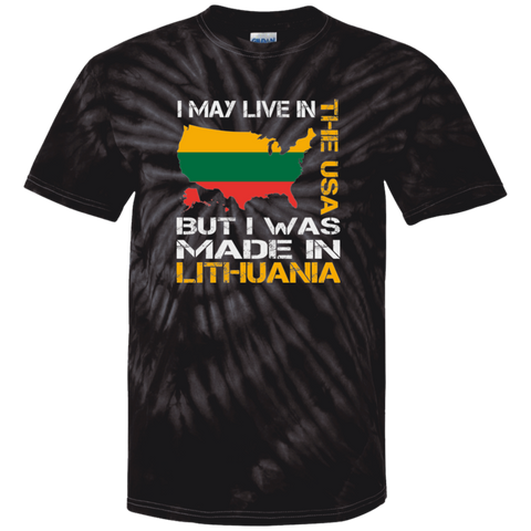 Made in Lithuania -- Guys Tie Dye T-Shirt