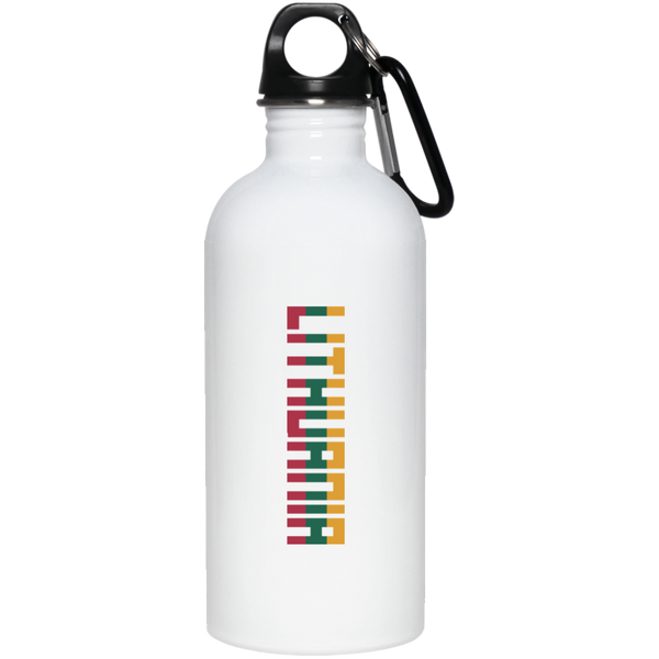 Lithuania Vertical -- Stainless Steel Water Bottle
