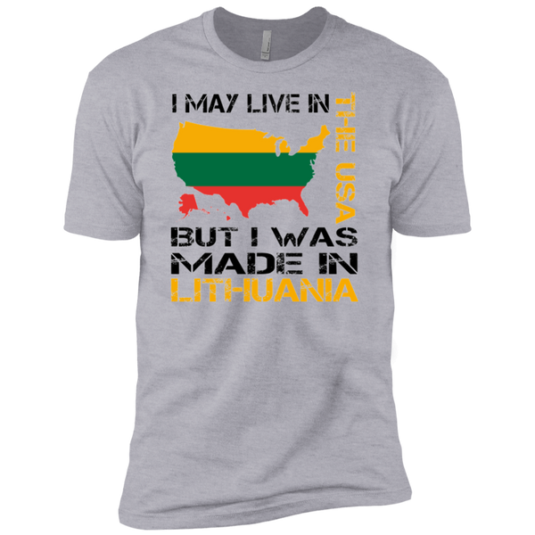 Made in Lithuania -- Guys Premium T-Shirt