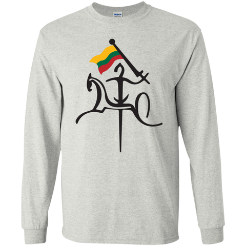 Vytis w/ Flag -- Guys Long Sleeve