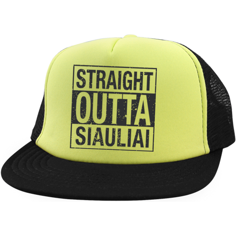 Outta Siauliai -- Trucker Hat with Snapback