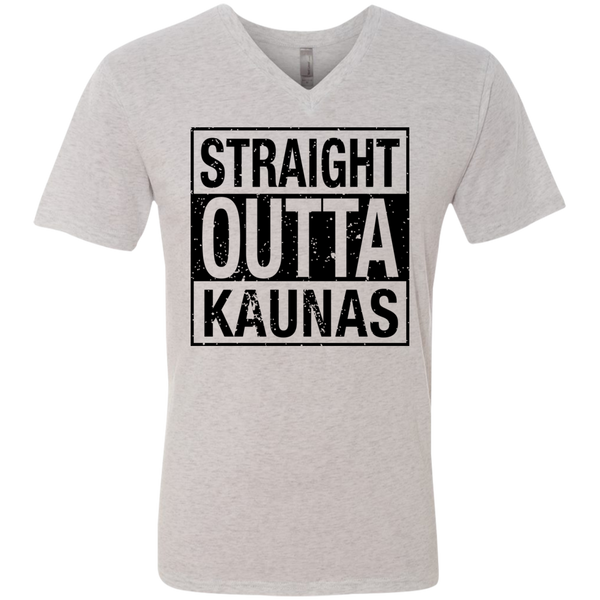 Outta Kaunas -- Guys Next Level V-Neck