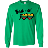 Restored 100 (Love) -- Jaunimas Long Sleeve T-Shirt