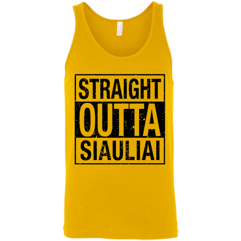 Outta Siauliai -- Guys/Gals Bella+Canvas Tank Top