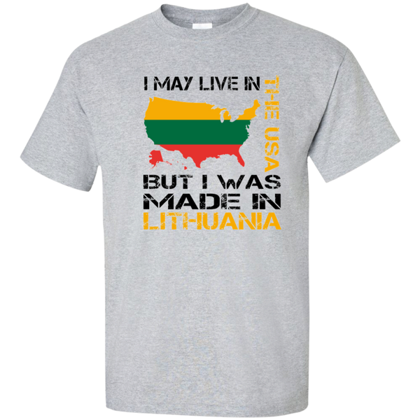 Made in Lithuania -- Guys Tall T-Shirt