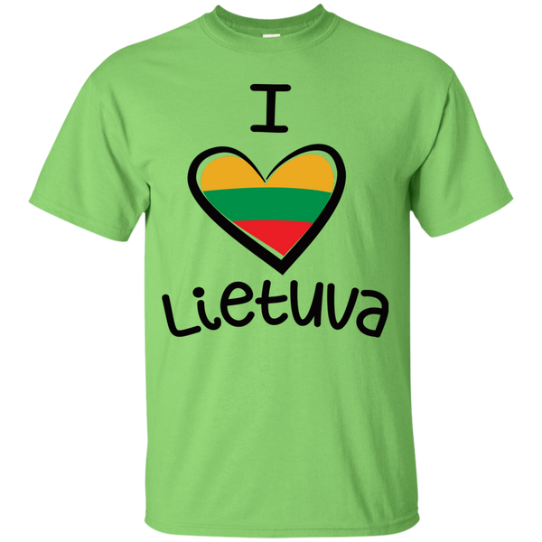 I Love Lietuva -- Youth Boys/Girls T-Shirt