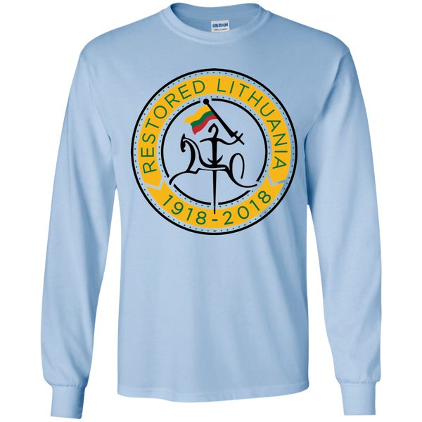 Restored 100 (Vytis Yellow Circle) -- Juanimas Long Sleeve T-Shirt