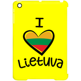 I Love Lietuva -- Mini Clip iPad Case