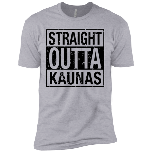Outta Kaunas -- Guys Next Level Premium T-Shirt