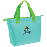 Vytis w/ Flag -- Zippered Tote Bag