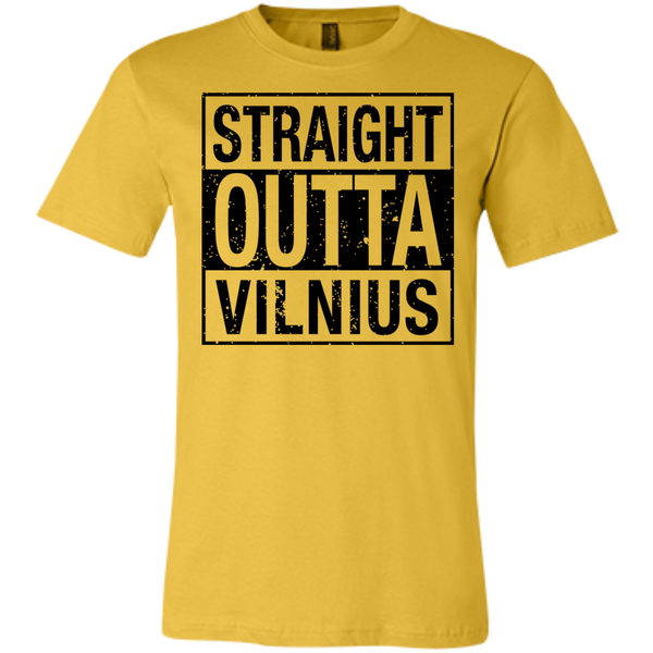 Outta Vilnius -- Bella+Canvas Guys/Gals Short-Sleeve Tee T-Shirt