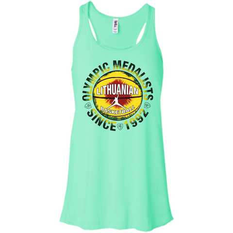 Olympic Medalists -- Bella+Canvas Juniors Girls Racerback Tank