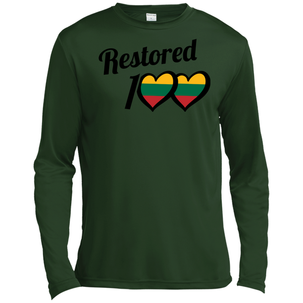 Restored 100 (100 Love) -- Vyrams Tall Moisture Absorbing Long Sleeve