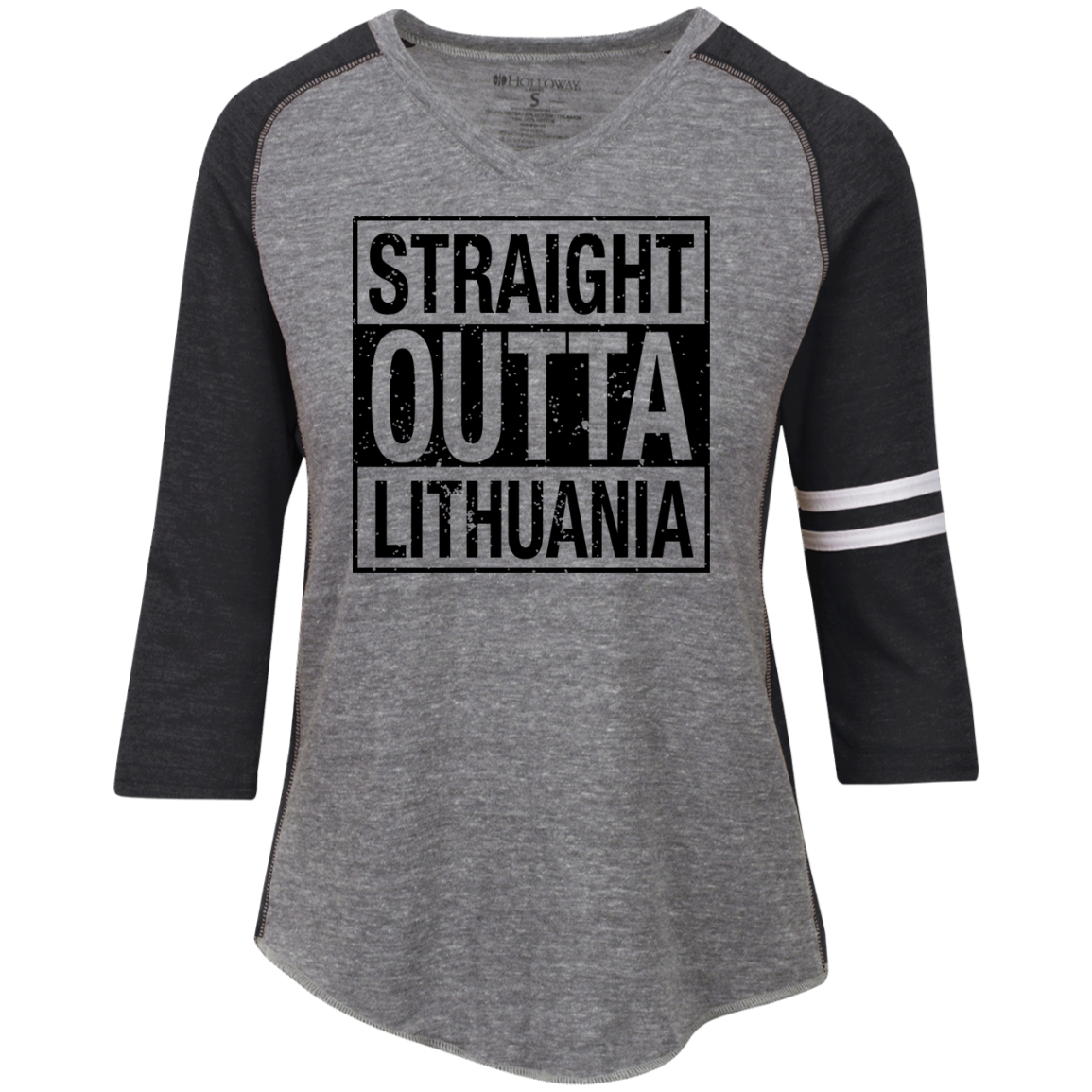 Outta Lithuania -- Gals Vintage V-Neck