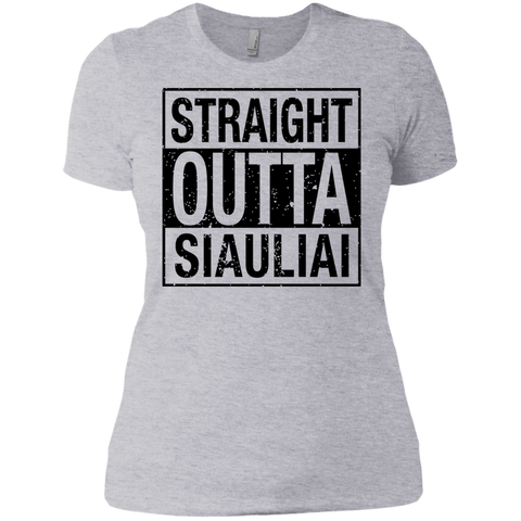 Outta Siauliai -- Gals Next Level Boyfriend Tee