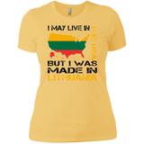 Made in Lithuania -- Gals Premium Boyfriend Tee