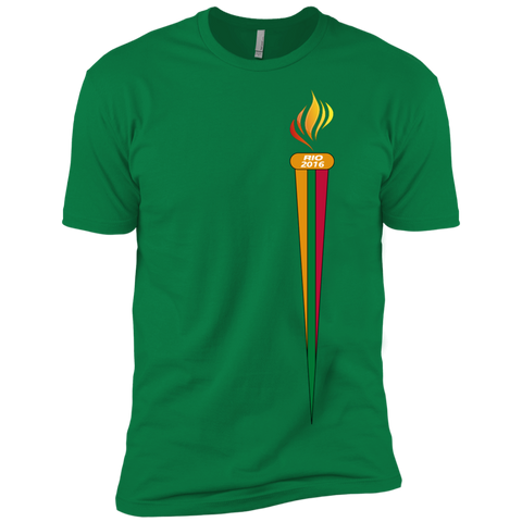Rio Torch -- Guys Next Level Premium T-Shirt