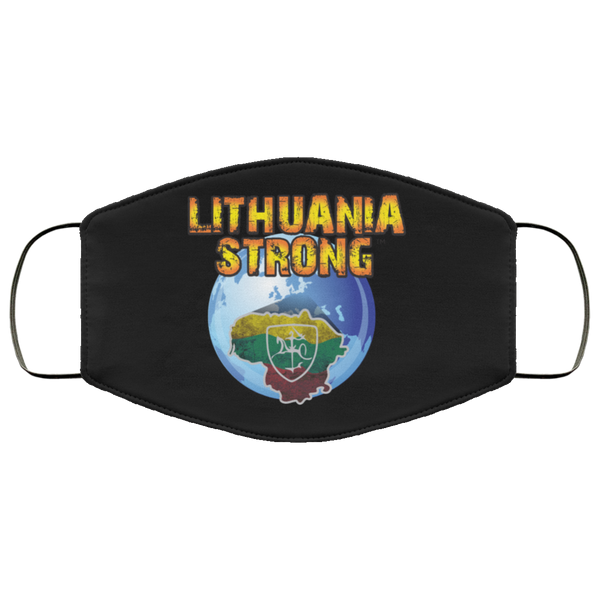 Lithuania Strong - Double-Layer Cloth Face Mask