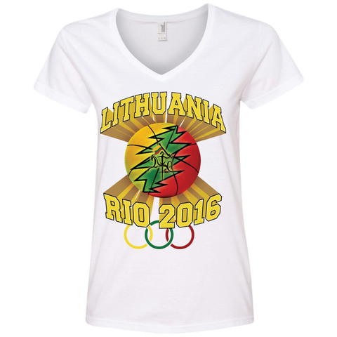 Rio Olympic Basketball -- Gals V-Neck