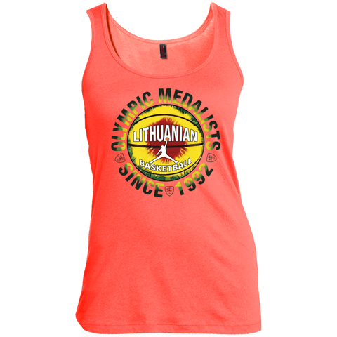 Olympic Medalist -- Gals Scoop Neck Tank