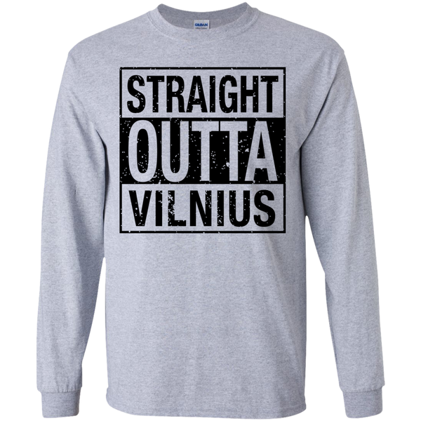 Outta Vilnius -- Youth Boys/Girls Long Sleeve