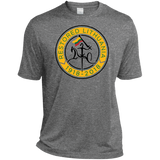Restored 100 (Vytis Yellow Circle) -- Vyrams Heather Dri-Fit Moisture-Wicking