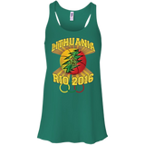 Rio Olympic Basketball -- Bella+Canvas Juniors Girls Racerback Tank