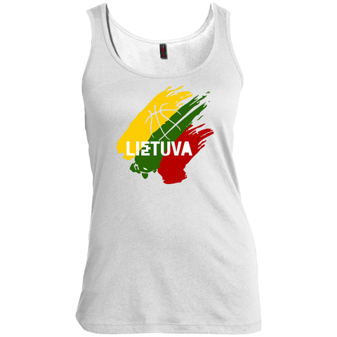 Lietuva BB -- Gals Scoop Neck Tank