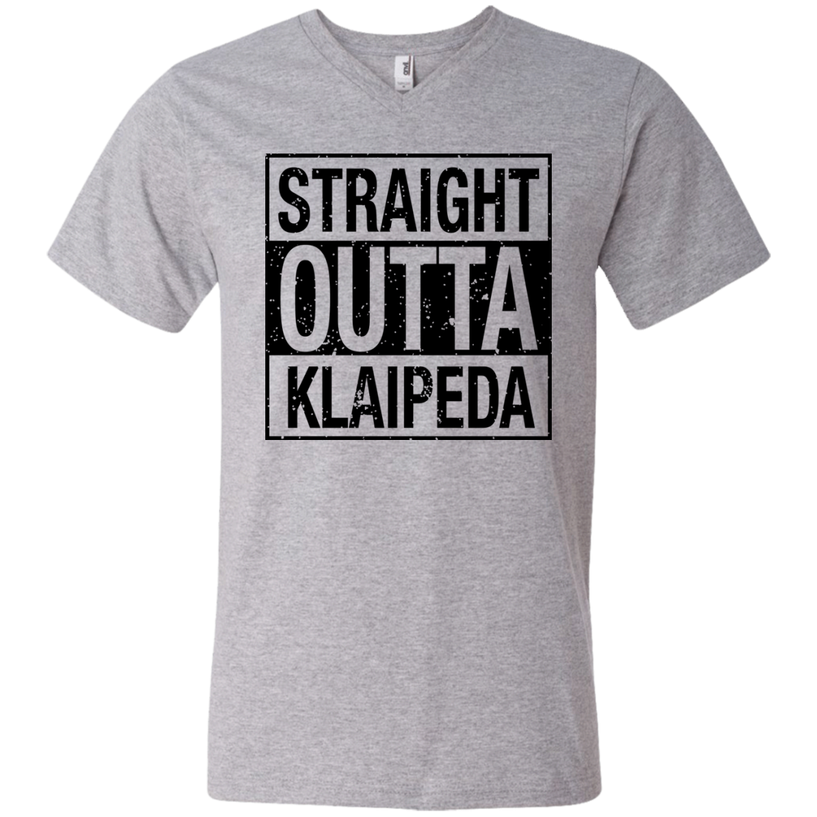 Outta Klaipeda -- Guys V-Neck