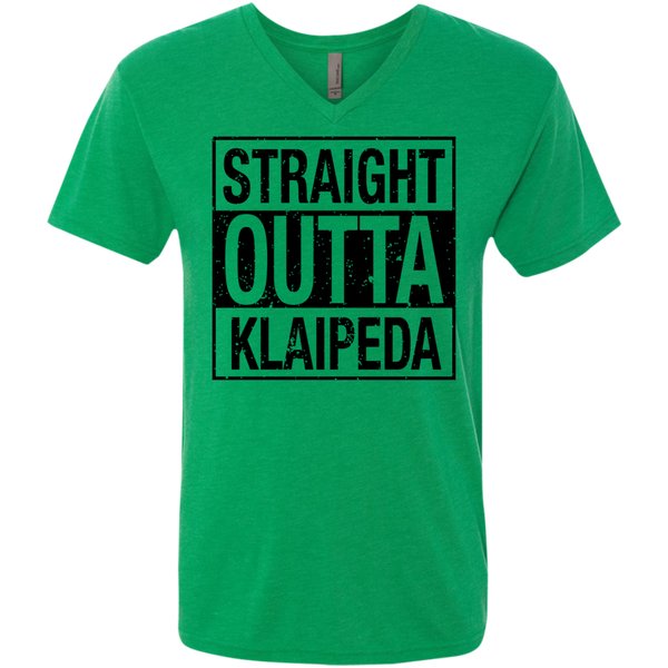 Outta Klaipeda -- Guys Next Level V-Neck
