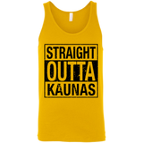 Outta Kaunas -- Guys/Gals Bella+Canvas Tank Top