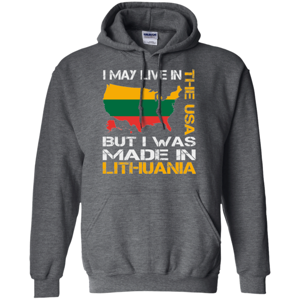 Made in Lithuania -- Guys/Gals Hoodie Sweatshirt