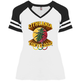 Lithuania Basketball Tokyo 2020 - Gals Game V-Neck T-Shirt